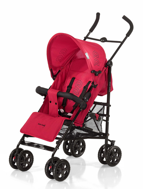 Knorr-baby BUGGY COMMO Red-black