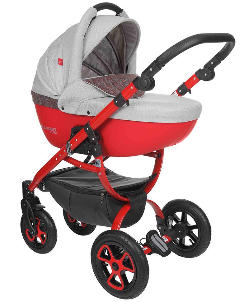Depemo Grander Plus Eco 02 červená-šedá